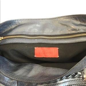 2e913e4b914 Valentino Garavani Bags - Valentino Garavani Navy Leather Histoire Bag.